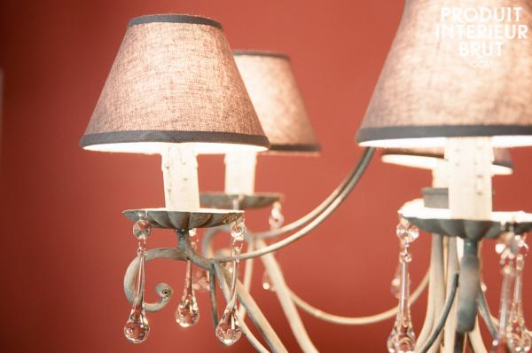 Shabby chic furniture encompasses light fittings too!