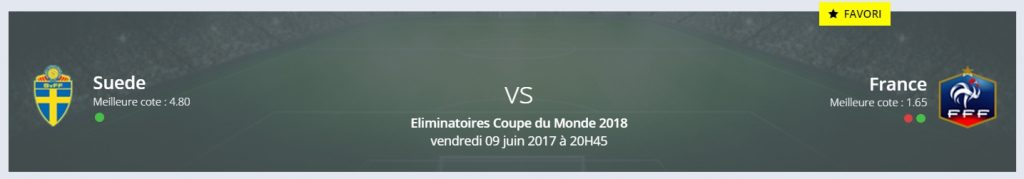 Le pronostic Suède/France — Mondial 2018 de RDJ donne la France favori !